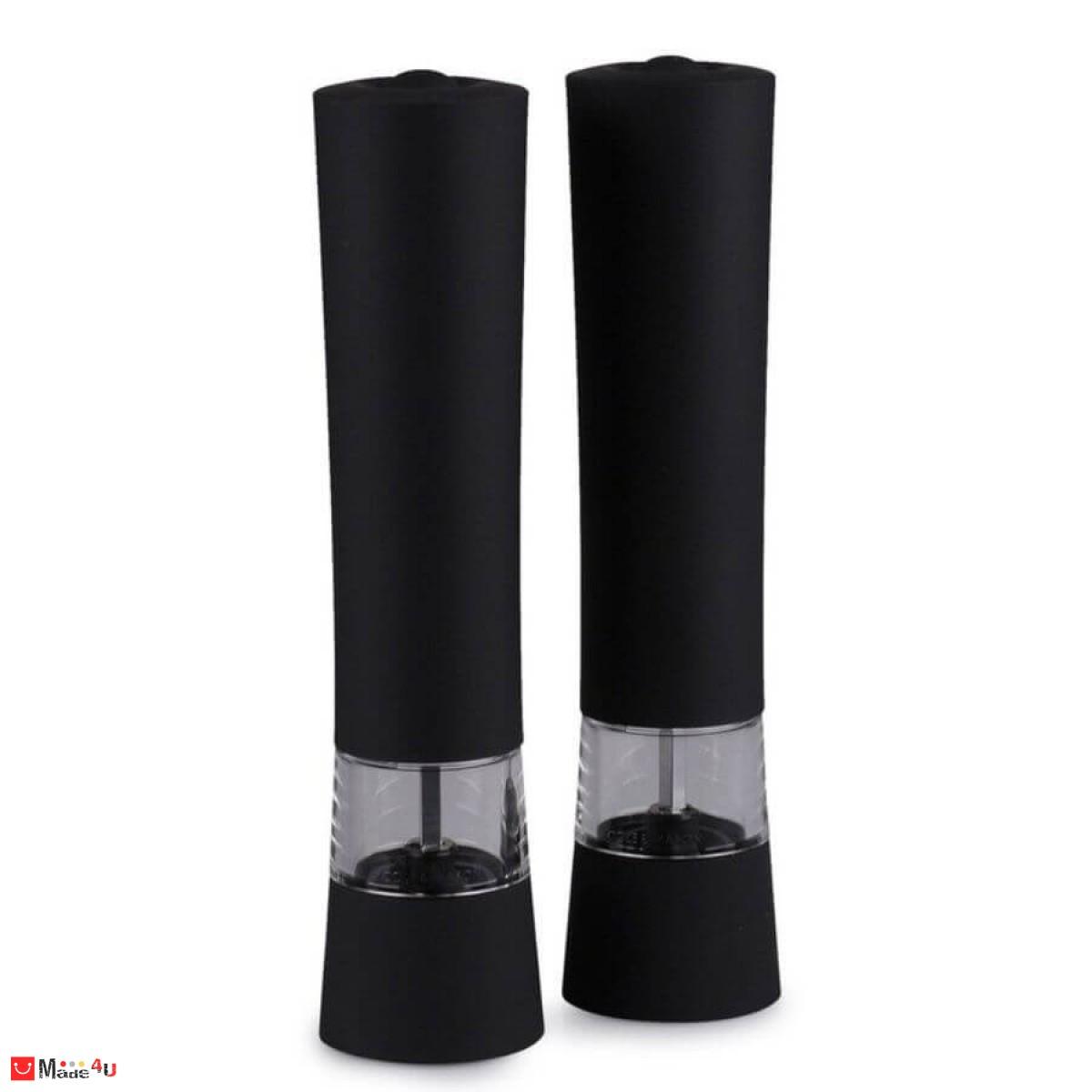 Луксозен Gift Set електрически мелнички за сол и пипер VICTORIA 21см, COLE&MASON