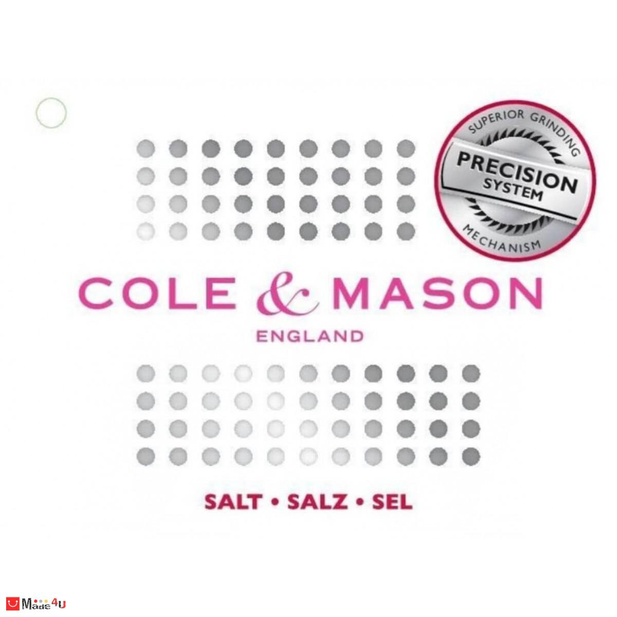Сет 2 броя мелнички за сол и пипер -10см, ASCOT, COLE&MASON