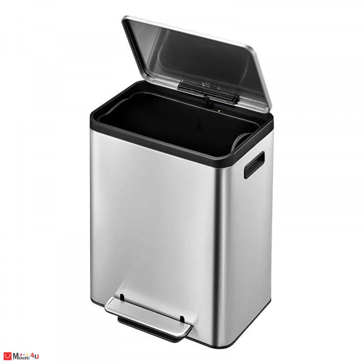 Кош за отпадъци с педал - 30 литра, мат. Модел ECOCASA, марка EKO