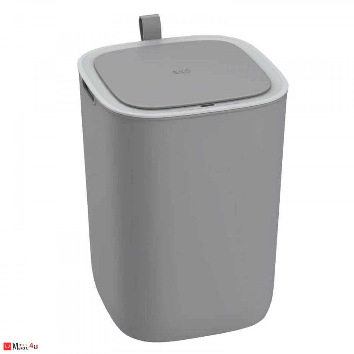 Сензорен кош за отпадъци - 12 литра, сив. Модел MORANDI SMART, марка EKO