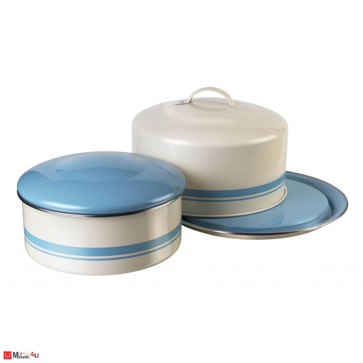 Комплект 2 броя кутии с капак подходящи за съхранение на торта или хляб - JAMIE OLIVER