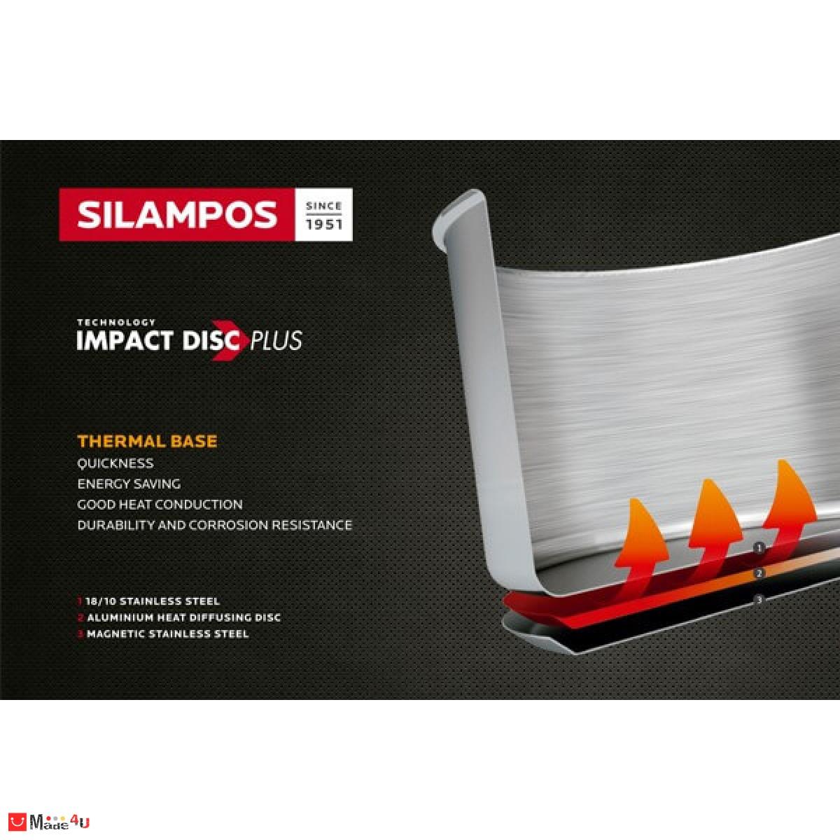 Тенджера под налягане STARTWIST 10л - марка SILAMPOS