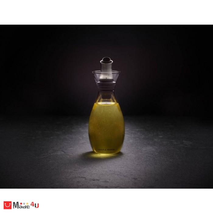Диспенсър за олио или оцет с регулиране на дозатора - 350мл, COLE & MASON