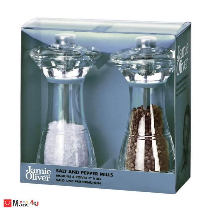 Комплект мелнички за сол и пипер 14см - марка JAMIE OLIVER