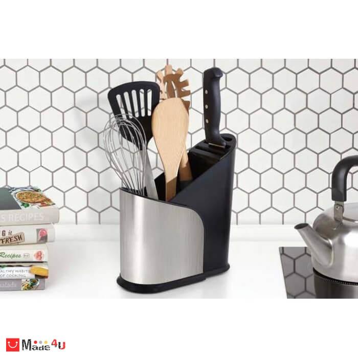 """Поставка за кухненски прибори и ножове """"FURLO"""" с регулиращ се размер - UMBRA"""