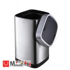 подарък Сензорен кош за боклук 12л, плавно затваряне, хром мат, EKO ECOSMART NV-EKO 928812 - Matt s/s