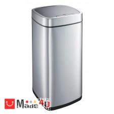 подарък Сензорен кош за боклук 35л, плавно затваряне, хром мат, EKO PERFECT NV-EKO 928835 - Matt s/s