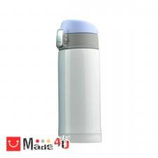 """подарък Супер лек термос с вакуумна и двустенна изолация """"MINI DIVA"""" 200 мл. Цвят бял, марка ASOBU. NV-ASOBU - V606 WHITE"""