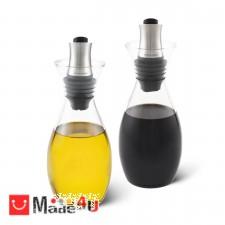 подарък Комплект 2 броя диспенсъра за олио и оцет с регулиране на дозатора - COLE & MASON NV-COLE & MASON H 103028