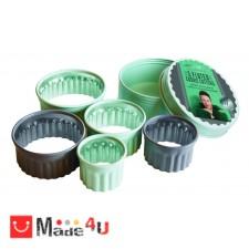 подарък Комплект 5 броя вълнообразни форми за десерти и ястия - JAMIE OLIVER NV-JB 3810