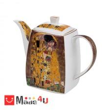 подарък Чайник от фин костен порцелан, 1000мл, Lancaster Целувката DM-991741