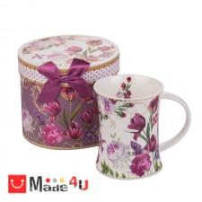 подарък Чаша за кафе и чай, порцелан, 300 мл, Lancaster - Лалета DM-952269