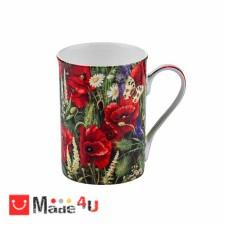 подарък Чаша за кафе и чай, 300 мл, Lancaster - Макове DM-975801