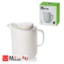 подарък Кана за мляко 800мл, порцелан, класическа, бяла, Lancaster LH19 DM-LH19