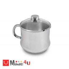 подарък Съд за варене на мляко - 1,9л, марка SILAMPOS NV-Low cost I glass 637122 - V72214L -100