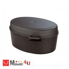 подарък Овален съд за печене с капак 42х28см, SKK Titanium NV-SKK 260