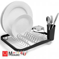 подарък Отцедник за чинии, чаши и прибори, метален сушилник 36х28см, UMBRA SINKIN, черен NV-UMBRA 330065-744