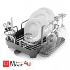 подарък Отцедник за чинии и чаши, сушилник 42х34см, UMBRA HOLSTER, сив NV-UMBRA 1008163-149