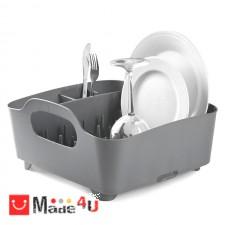 подарък Универсален отцедник за чинии, чаши и прибори, сушилник 38х36см, UMBRA TUB, светло сив NV-UMBRA 330590-149