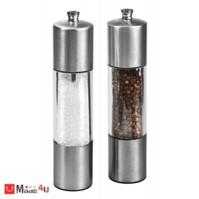 Комплект мелнички за сол и пипер 20см