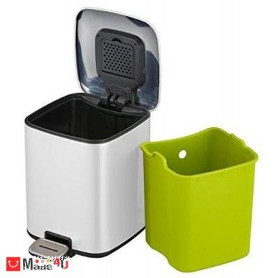 Кош за боклук с педал, 6 литра