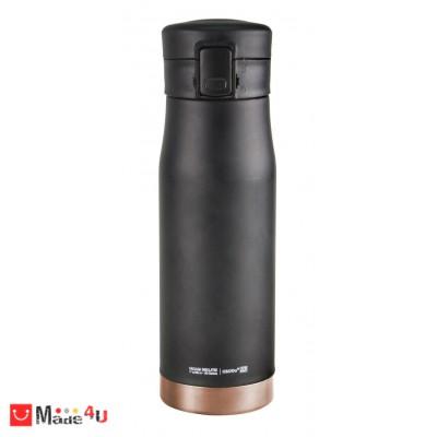 """Двустенен термос с вакуумна изолация """"LIBERTY"""" 500 мл. Цвят черен/мед - марка ASOBU"""