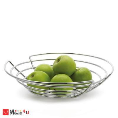 Кръгла фруктиера от хромирана стомана - WIRES, BLOMUS