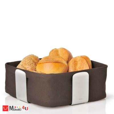 Панер за плодове и хляб DELARA 25,5х25,5см кафяв