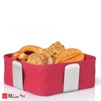 Панер за хляб и плодове DELARA 25,5х25,5см червен