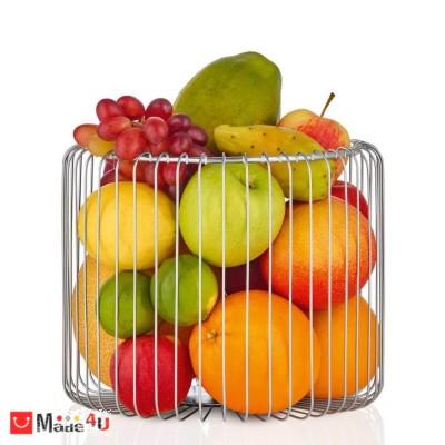 Стилна стоманена фруктиера ESTRA, BLOMUS - Ø 25 см