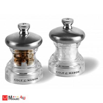 Мелнички за сол и пипер 2 броя PO3 - 6,5 см, COLE&MASON