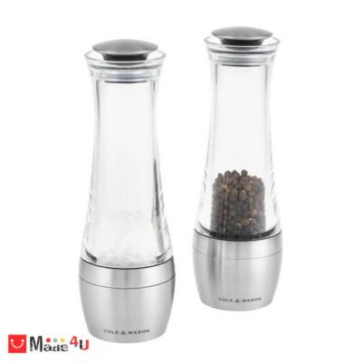 Мелнички за сол и пипер 2 броя, 19 см - AMESBURY, COLE&MASON