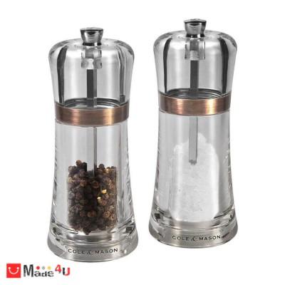 Комплект 2 броя мелнички за сол и пипер FONTWELL - 14 см, COLE&MASON