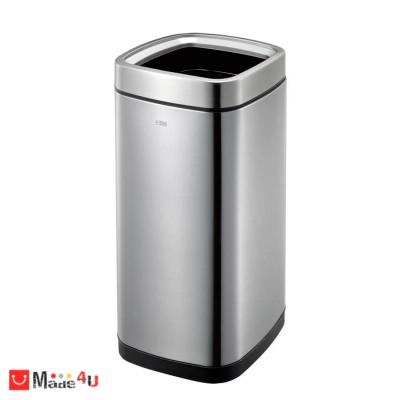 Отворен кош за отпадъци 35 литра - квадратен, модел LAGUNA мат, марка EKO