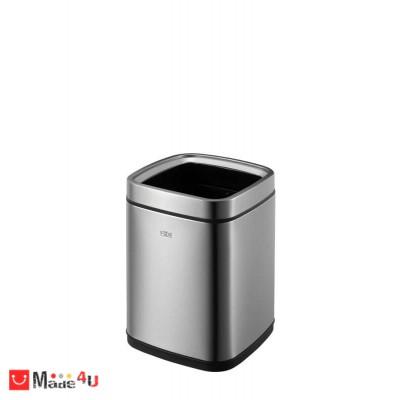 Отворен кош за отпадъци 9 литра - квадратен, модел LAGUNA мат, марка EKO