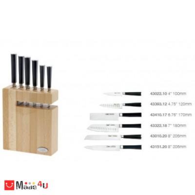 Комплект ножове със стойка от 6 части - марка IVO Cutelarias
