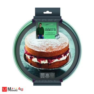 Плитка форма за кекс или торта с падащо дъно, Ø20см
