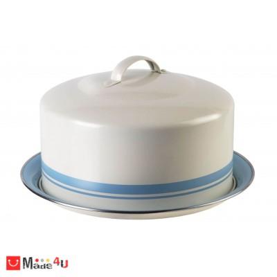 Кутия за торта, кекс или хляб, с емайлиранo покритие - JAMIE OLIVER, голяма