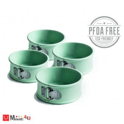 Комплект 4 броя висококачествени форми за печесе с падащо дъно - JAMIE OLIVER