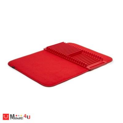 Стилен сушилник за съдове в червен цвят, модел UDRY, UMBRA