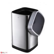 Сензорен кош за боклук 12л, плавно затваряне, хром мат, EKO ECOSMART