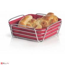 Панер за плодове и хляб 25х25см червен, марка BLOMUS