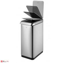 Кош за отпадъци с TOUCH механизъм  - 30 литра, мат. Модел TOUCH BAR, марка EKO