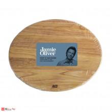 Дървена дъска за рязане и сервиране от акациево дърво - овална, JAMIE OLIVER