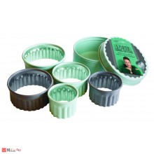 Комплект 5 броя вълнообразни форми за десерти и ястия - JAMIE OLIVER
