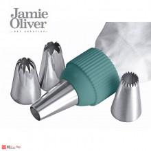 Сладкарски шприц с 5бр накрайници - JAMIE OLIVER