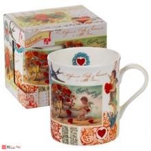 Чаша за кафе и чай, 250 мл, Lancaster - Ангелчета на любовта