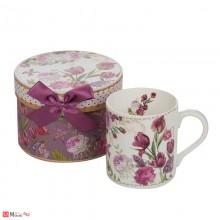 Стилна Чаша за кафе и чай, 280 мл, Lancaster - Лалета