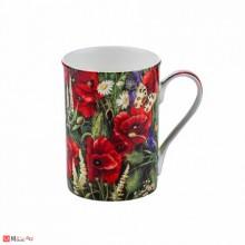 Чаша за кафе и чай, 300 мл, Lancaster - Макове