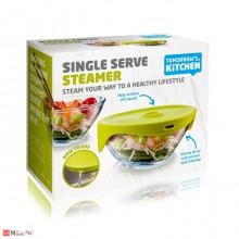 Купа за готвене и задушаване, универсална, 17см, Tomorrows Kitchen, зелена
